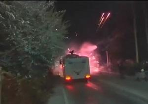Турецкая полиция разогнала  протестующих студентов слезоточивым газом