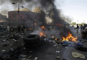 Серия взрывов в Багдаде: число жертв растет