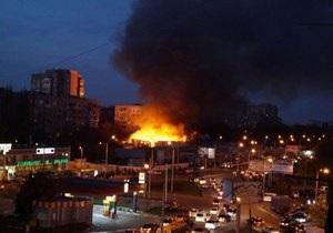 Сотрудники МЧС локализировали пожар на одесском рынке Селянка, пострадавших нет