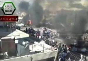 Теракт в пригороде Дамаска: десятки погибших и пострадавших