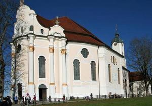 DW: Церковь на лугу - шедевр стиля рококо