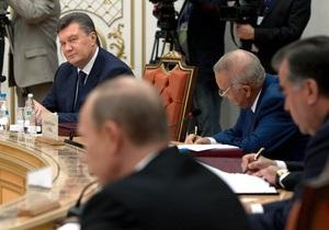Давайте жить дружно. Янукович раскритиковал противопоставление восточного и западного интеграционных векторов Украины