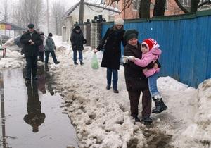 Киевские экологи заявляют, что талый снег может отравить питьевую воду