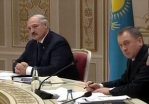 Путин - Лукашенко сел в кресло Путина на заседании Евразийского экономического совета