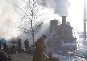 Фотогалерея: Зимние съемки нового фильма Сергея Лозницы