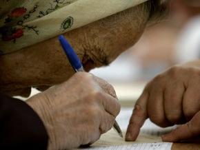 В избирательных списках украинцев выявили 600 тысяч  двойников