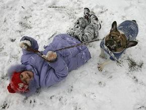 В первые дни 2009 года в Украине похолодает