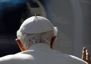 Сегодня Папа Римский Бенедикт XVI отрекается от престола