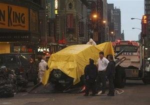 Ответственность за несостоявшийся теракт в Нью-Йорке взял на себя Талибан