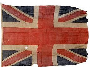 На аукционе продан единственный сохранившийся флаг Трафальгарской битвы