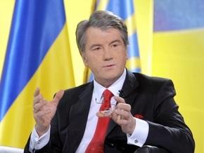 Ющенко: Украина не мешает транзиту газа в Европу и не ворует его