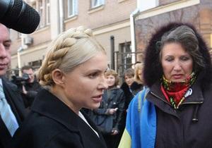 Генпрокуратура: Тимошенко не спешит знакомиться с материалами дела