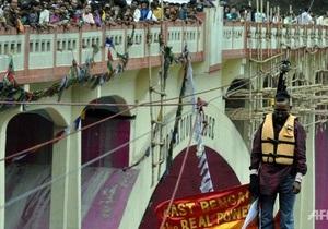 Новости Индии - странные новости - книга рекордов Гиннеса: Индийский рекордсмен скончался от инфаркта во время исполнения очередного трюка