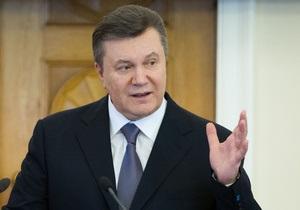 Янукович рассказал о целях новых реформ