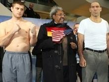 Взвесились: Валуев оказался тяжелее Ляховича на 32 кг