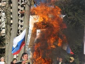 В Симферополе пророссийские организации протестуют против украинизации вузов
