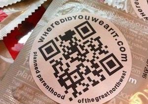 В США выпустили презервативы с кодом, позволяющим отмечать места безопасного секса
