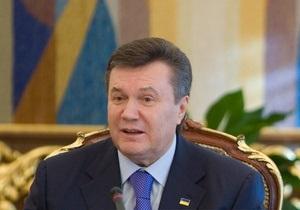Янукович хочет подписать соглашение об ассоциации с ЕС до конца года