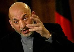 Карзай недоволен российско-американской антинаркотической операцией в Афганистане