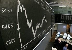 Европейские фондовые индексы снизились из-за акций банков