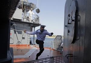 Украина и Россия продолжают переговоры о перевооружении Черноморского флота