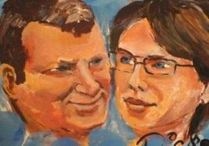 Художник Прикассо нарисовал портрет мэра Риги пенисом