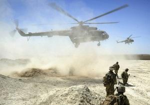 В Афганистане двое военнослужащих НАТО погибли при крушении вертолета