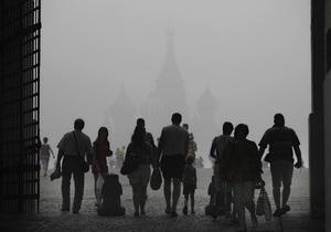 Пожары в России: Москвичи раскупили все туры на ближайшие выходные. Медицинские маски не спасают от  дыма