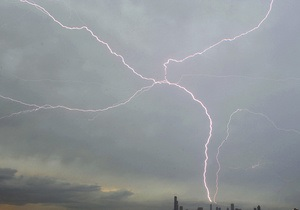 В Дании зафиксировали 18 тысяч ударов молний за ночь