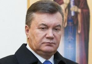 Янукович: Украинцы победили Голодомор лишь благодаря вере в себя