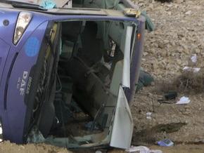 В Анталье перевернулся автобус с российскими туристами