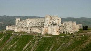 В Сирии авиаударом повредили крепость крестоносцев, внесенную в список ЮНЕСКО