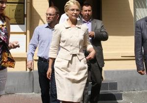 В Киеве проводят сбор подписей с требованием освободить Тимошенко из-под стражи