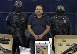 Арестован один из главарей крупнейшего мексиканского наркокартеля