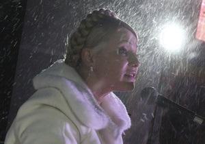 Тимошенко обвинила Партию регионов в срыве выборов