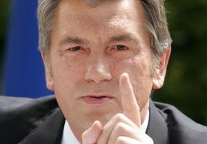 Ющенко заявил, что при Януковиче  мы все будем петь Мурку