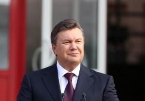 Янукович поздравил родное Енакиево с Днем города