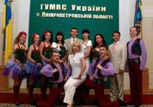 Днепропетровский ансамбль управления МВД снял ролик о милицейской службе