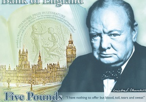 В Великобритании появятся пятифунтовые банкноты с изображением Черчилля