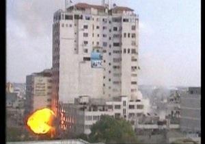 Боевики Газы в полтора раза снизили интенсивность обстрела