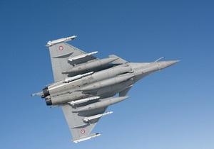 Французский истребитель сбил ливийский военный самолет