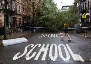 Число патрулей на улицах Нью-Йорка увеличилось из-за роста преступлений после урагана