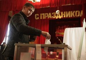На выборах президента РФ проголосовала треть избирателей
