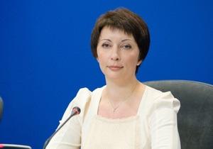 Министром Кабмина стала Елена Лукаш