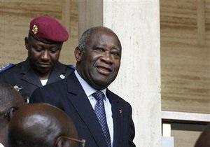 Экс-президента Кот-д Ивуара вывезли из Абиджана