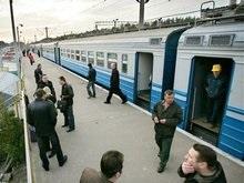В Киеве на вокзале электричка переехала мужчину