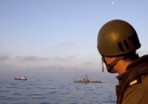 Французскому судну удалось отплыть из Греции в сектор Газа