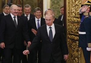Путин: договор о ЕЭС подготовят через полтора года