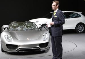 Покупатель из Украины заказал эксклюзивный Porsche 918 Spyder за 650 тысяч евро