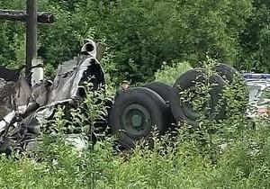 В результате крушения Ту-134 в Карелии погибли двое украинцев